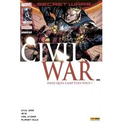SECRET WARS : CIVIL WAR 1...