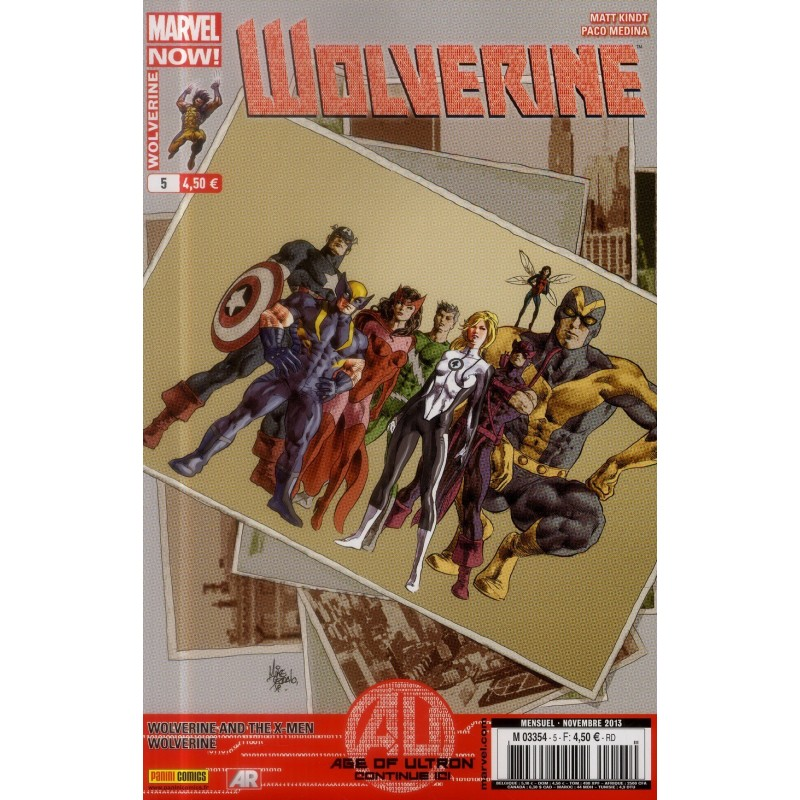 WOLVERINE 2013 005 AGE OF ULTRON