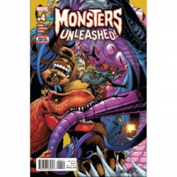 MONSTERS UNLEASHED -4 (OF 5)