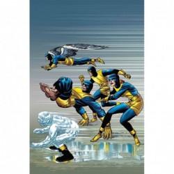 X-MEN BLUE -1 KIRBY 100TH VAR