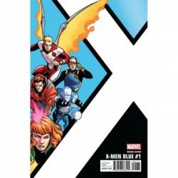 X-MEN BLUE -1 KIRK CORNER...