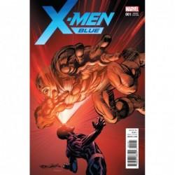 X-MEN BLUE -1 N ADAMS VAR
