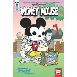 MICKEY MOUSE -20 FUNKO ART VAR