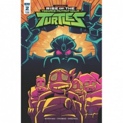 RISE OF THE TMNT -2 CVR A...