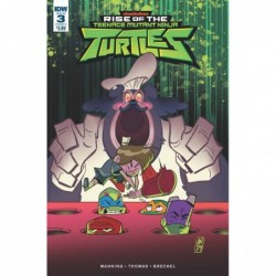RISE OF THE TMNT -3 CVR A...