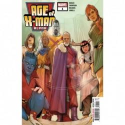AGE OF X-MAN ALPHA -1