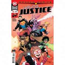 YOUNG JUSTICE -1 2ND PTG
