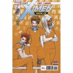 X-MEN GOLD -24 LEG