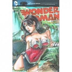 WONDER WOMAN -19 BLANK...