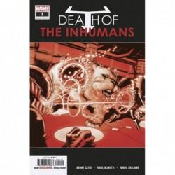DEATH OF INHUMANS -1 (OF 5)...