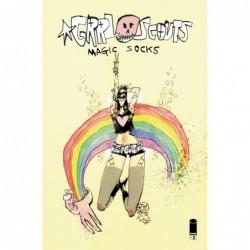 GRRL SCOUTS MAGIC SOCKS -2...