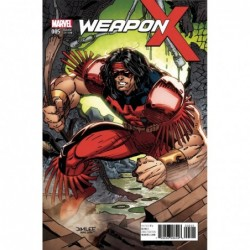 WEAPON X -5 X-MEN CARD VAR