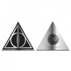 HARRY POTTER BADGE DEATHLY...