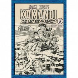 JACK KIRBY KAMANDI ARTIST...