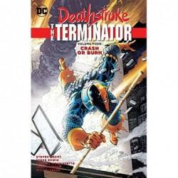 DEATHSTROKE THE TERMINATOR...