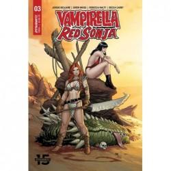 VAMPIRELLA RED SONJA -3 CVR...