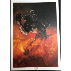 SIGNED VENOM LITHOGRAPH BY...