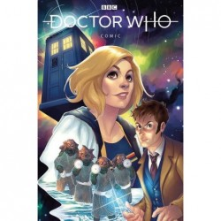 DOCTOR WHO COMICS -3 CVR A...