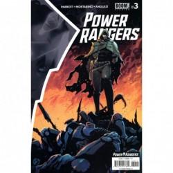 POWER RANGERS -3 CVR A SCALERA