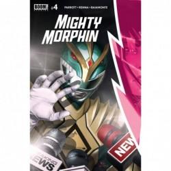 MIGHTY MORPHIN -4 CVR A MAIN