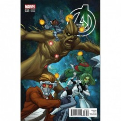 AVENGERS - 32 FERRY COVER