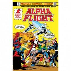 ALPHA FLIGHT -1 FACSIMILE...