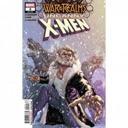 WAR OF REALMS UNCANNY X-MEN...