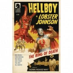 HELLBOY VS LOBSTER JOHNSON...