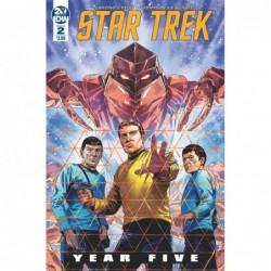 STAR TREK YEAR FIVE -2 CVR...
