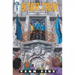 STAR TREK YEAR FIVE -3 CVR...