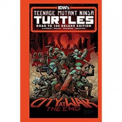 TMNT ONGOING -100 DLX HC