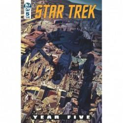 STAR TREK YEAR FIVE -5 CVR...
