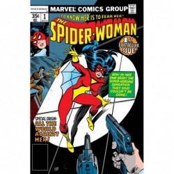 SPIDER-WOMAN -1 FACSIMILE...