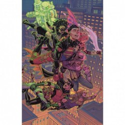 YOUNG JUSTICE -9 CARD STOCK...