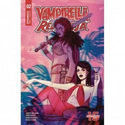 VAMPIRELLA RED SONJA -2 CVR...