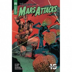 WARLORD OF MARS ATTACKS -5...