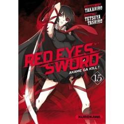 RED EYES SWORD - AKAME GA...