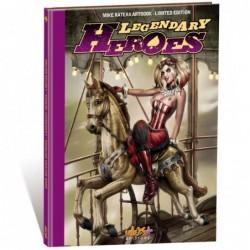 LEGENDARY HEROES ARTBOOK...
