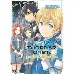 SWORD ART ONLINE - ALICIZA T03