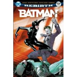 BATMAN REBIRTH 24 UN CLOWN...