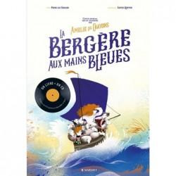 LA BERGERE AUX MAINS BLEUES...