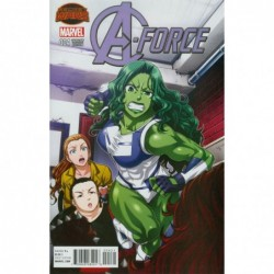 A-FORCE -4 COVER B VARIANT...