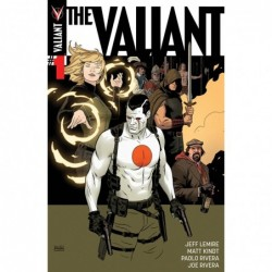 THE VALIANT -1 COVER A 1ST...