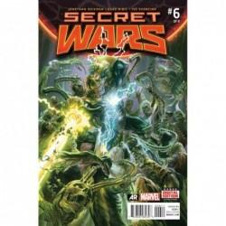 SECRET WARS -6 COVER A...