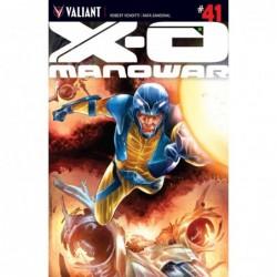 X-O MANOWAR -41 CVR A SANDOVAL