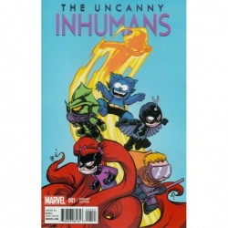 UNCANNY INHUMANS -1 COVER B...