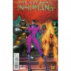UNCANNY INHUMANS -1 COVER K...