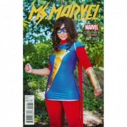 MS MARVEL -1 COVER D...