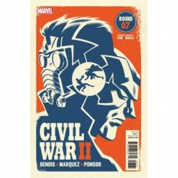 MINI LITHO CIVIL WAR II -7...