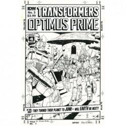 OPTIMUS PRIME -3 ARTIST ED VAR